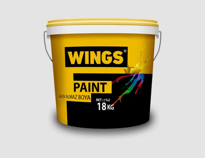 WINGS PAINT Alev Almaz Boya 18 KG WPY778